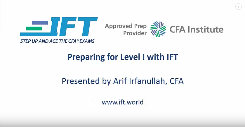 Pass Level I with IFT