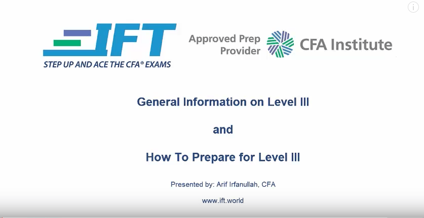 All About the 2017 Level III Exam