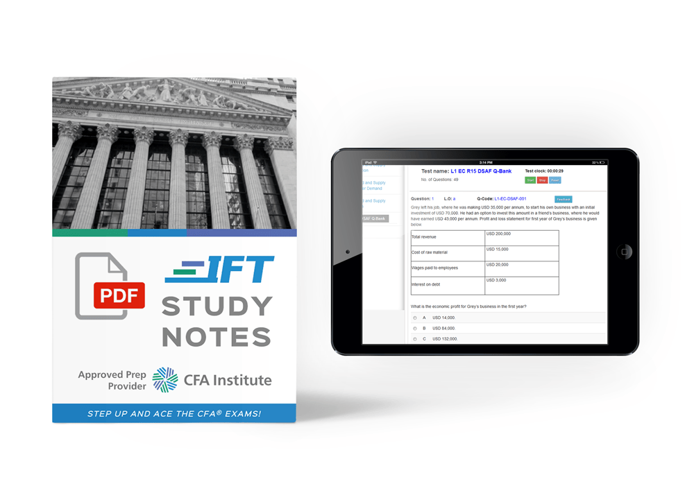 IFT Study Notes & Quizzes
