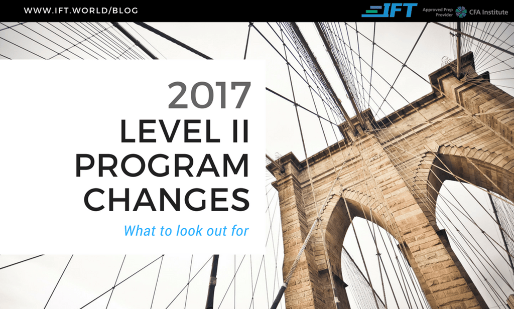 2017 Level II Program Changes