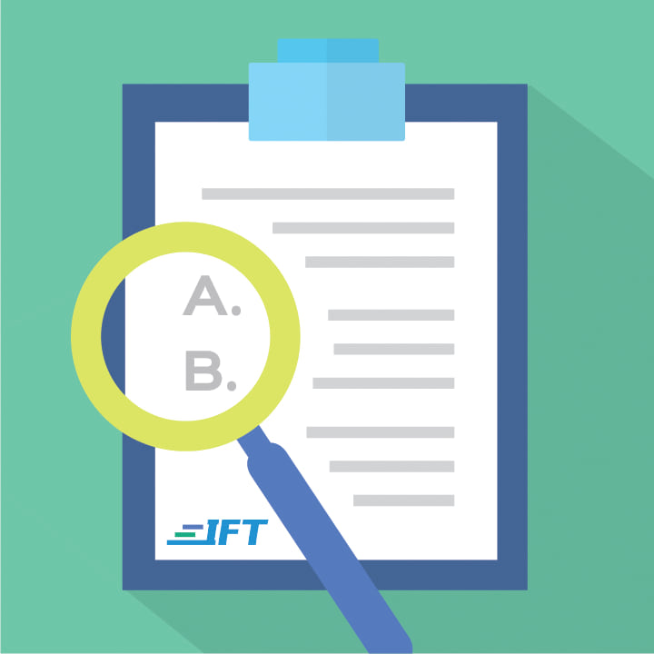 IFT Topic Exams