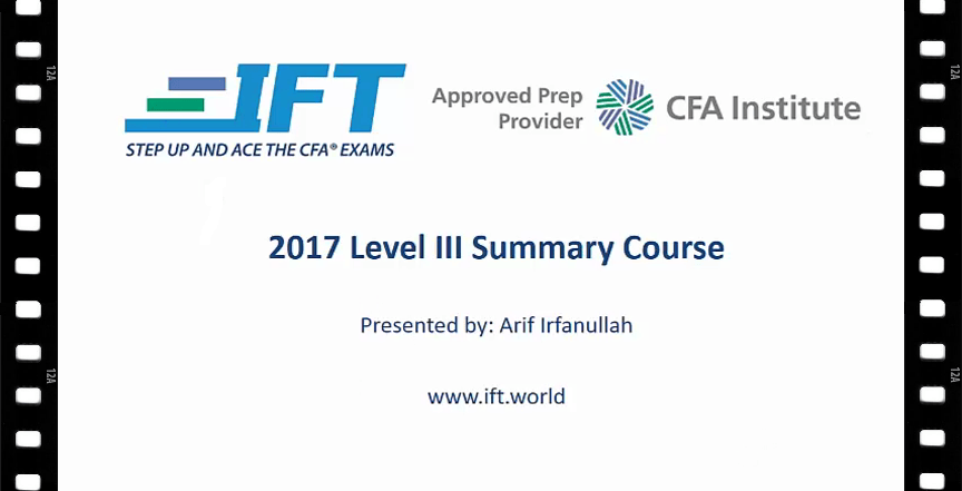 Summary for Level III Now Complete! | IFT World