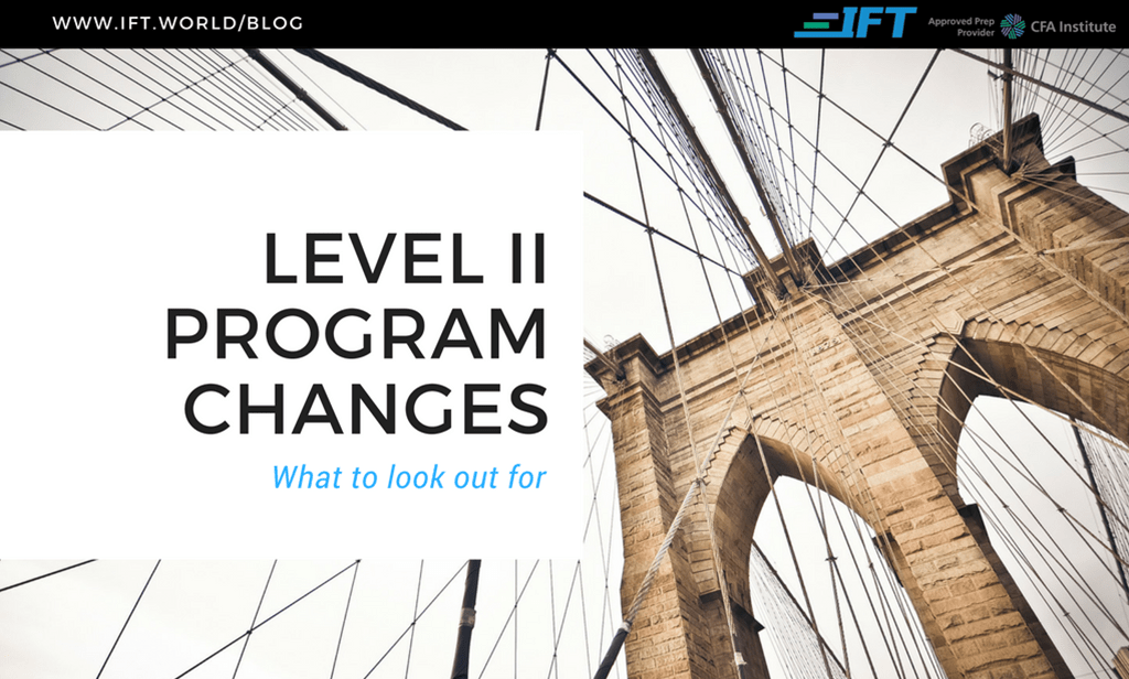 2019 Level II Program Changes