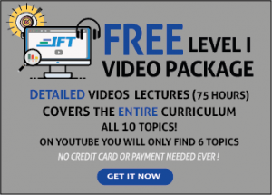 Level I Detailed Videos are now FREE!