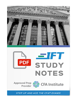 IFT Study Notes