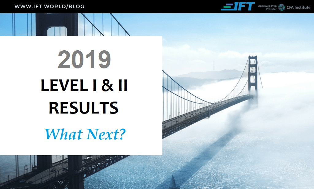 Your June 2019 Level I & II Exam Results