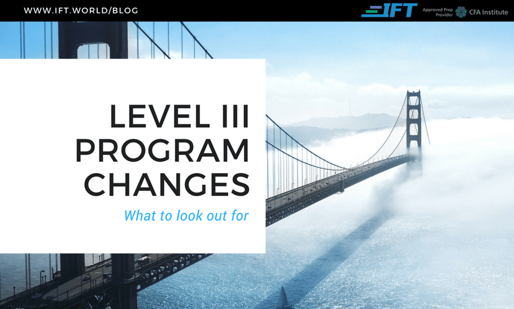 2020 Level III Program Changes
