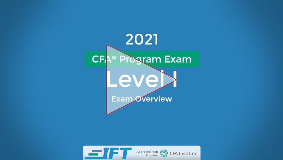 Changes for 2021 Level I CFA Program Exam