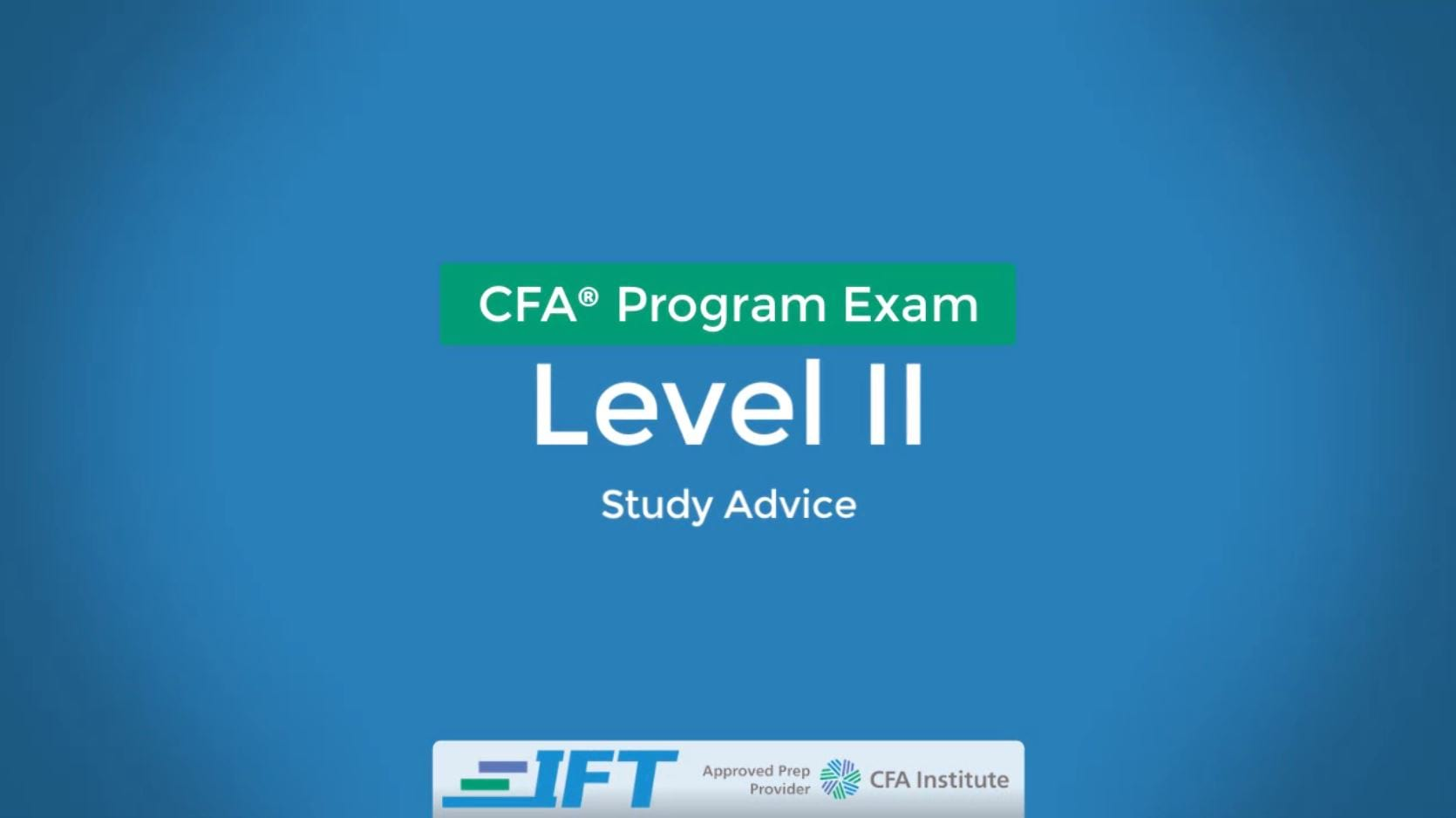 September 2020 Level II CFA Exam Advice