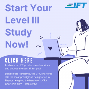 IFT Level III Products & Services