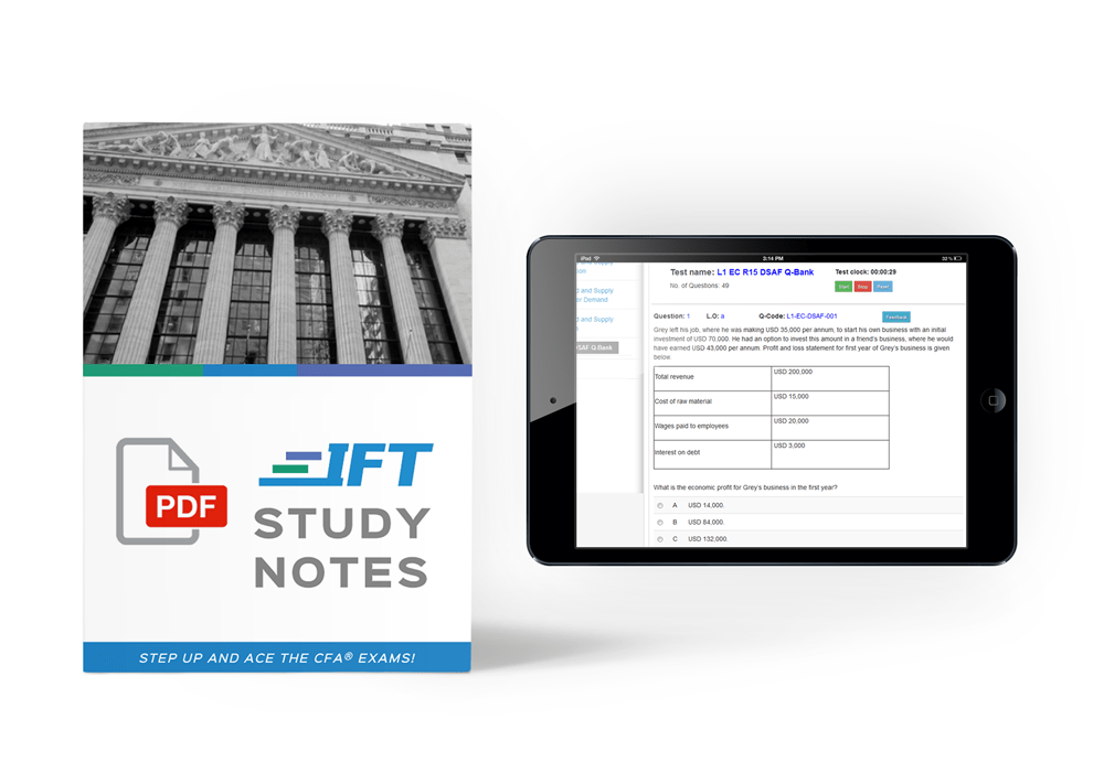 IFT Study Notes & Question Bank