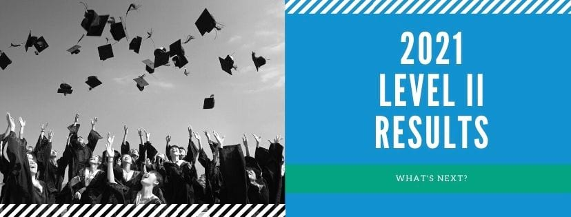 Your Aug 2021 Level II Exam Results
